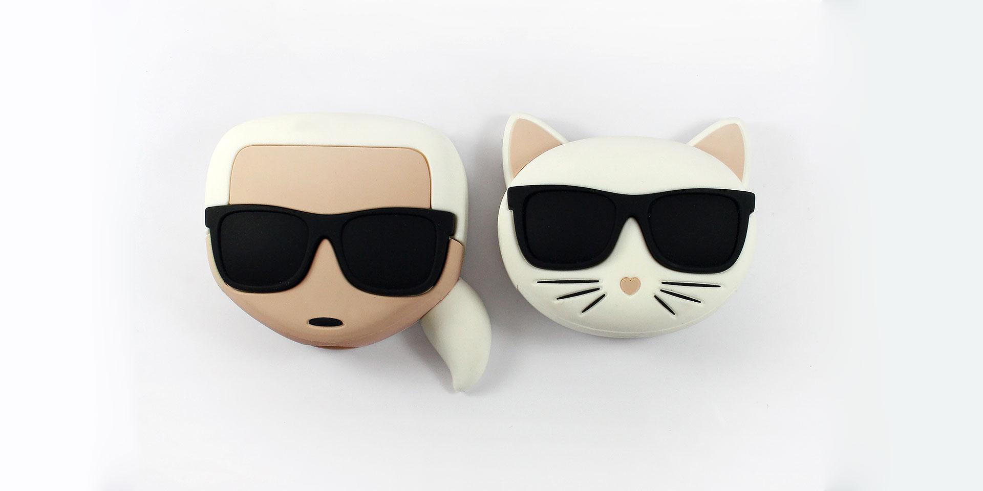 Karl Lagerfeld fashion power bank