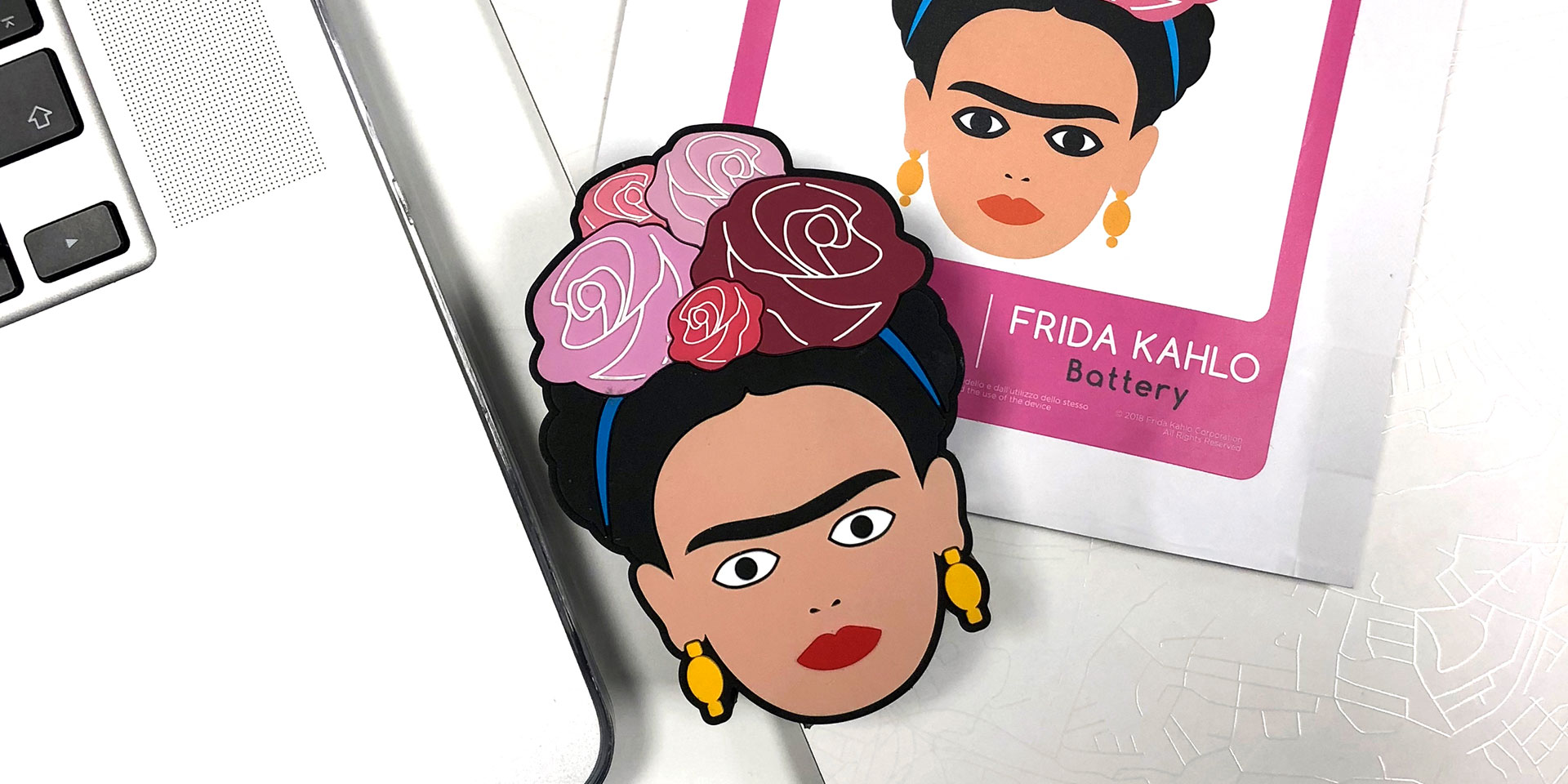 power bank frida kahlo mudec
