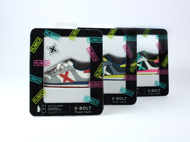 custom power bank shoes mojipower